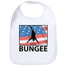 Bungee In America Bib
