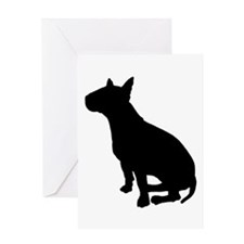 Bull Terrier Dog Breed Greeting Card