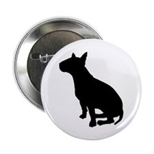 """Bull Terrier Dog Breed 2.25"""" Button"""