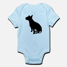 Bull Terrier Dog Breed Infant Bodysuit