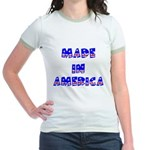 made in america Jr. Ringer T-Shirt