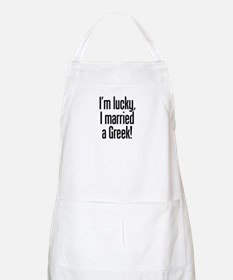 Married a Greek BBQ Apron