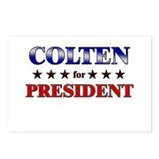 COLTEN for president Postcards (Package of 8)