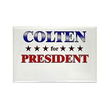 COLTEN for president Rectangle Magnet
