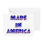 made in america Greeting Cards (Pk of 10)