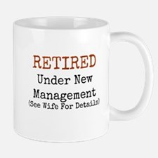 Retired See Wife for Details Mugs