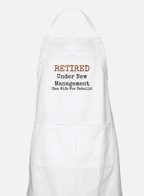 Retired See Wife for Details Apron