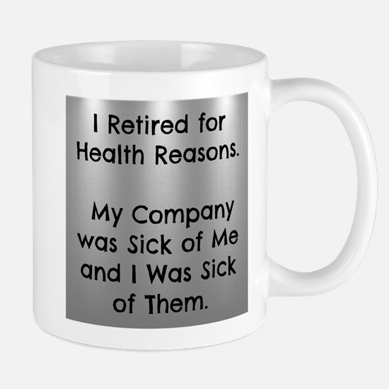Retired Funny Mugs