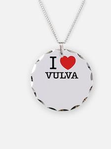 I Love VULVA Necklace