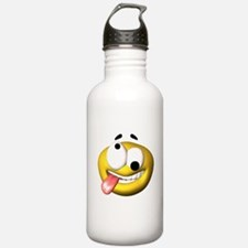 Crazy Smily Face Water Bottle