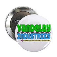 "Vandelay Industries 2.25"" Button"