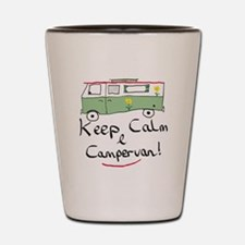 Keep Calm Campervan Shot Glass