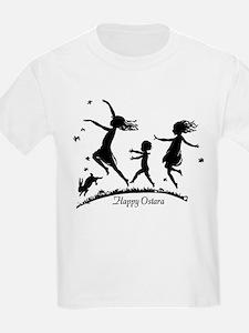 Happy Ostara Dance Kids T-Shirt