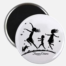Happy Ostara Dance Magnet
