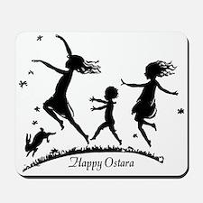 Happy Ostara Dance Mousepad
