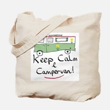 Keep Calm Campervan Tote Bag