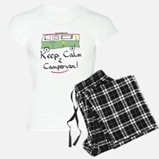 Keep Calm Campervan Pajamas