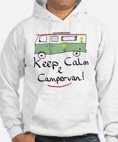 Keep Calm Campervan Jumper Hoody