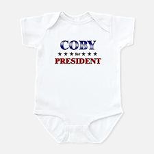 COBY for president Infant Bodysuit