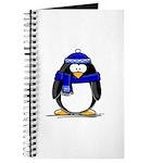 Blue Scarf Penguin Journal