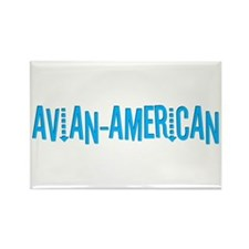 Avian American Rectangle Magnet