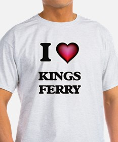 I love Kings Ferry Georgia T-Shirt
