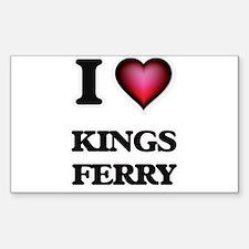 I love Kings Ferry Georgia Decal