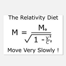The Relativity Diet Postcards (Package of 8)