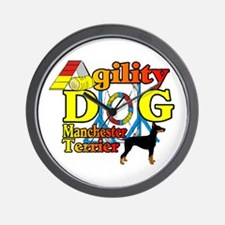 Manchester Terrer Agility Wall Clock