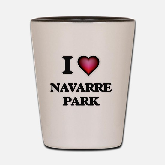 I love Navarre Park Florida Shot Glass