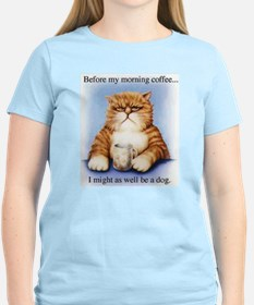 Morning Coffee Ash Grey T-Shirt