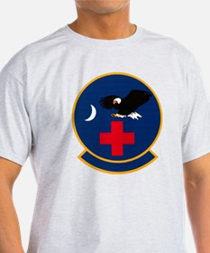 315th Aeromedical Evacuation Black T-Shirt