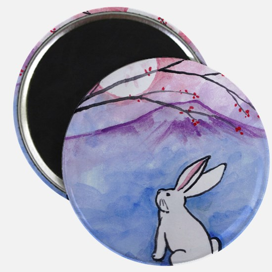 Moon Bunny Magnets