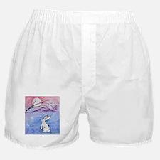 Moon Bunny Boxer Shorts