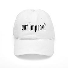 got improv? Baseball Cap