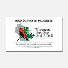 Wisconsin Breeding Bird Atlas Car Magnet 20 X 12