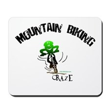 MOUNTAIN BIKING CRAZE Mousepad