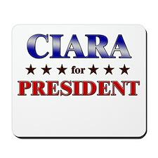 CIARA for president Mousepad