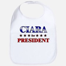 CIARA for president Bib