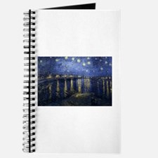 Cute Starry night over the rhone Journal