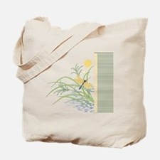 Dragonfly in Rice Field Tote Bag