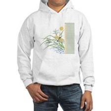 Dragonfly in Rice Field Hoodie