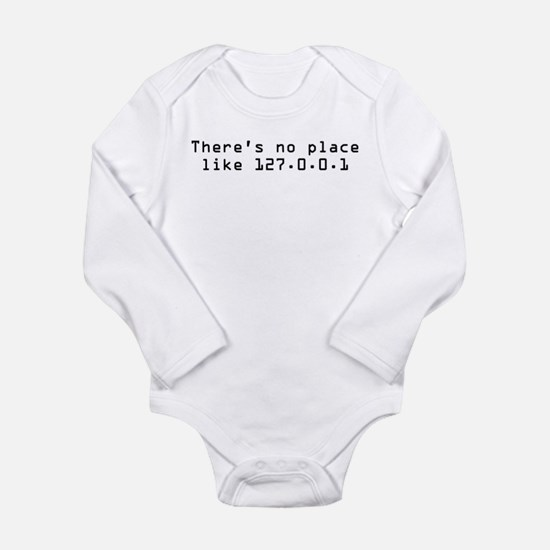 There's No Place Like It Infant Creeper Body Suit
