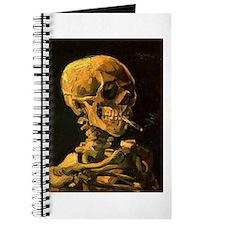 Unique Van gogh skull Journal