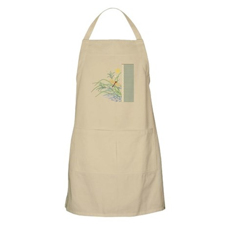 Dragonfly in Rice Field BBQ Apron
