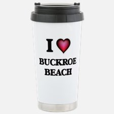 I love Buckroe Beach Vi Travel Mug