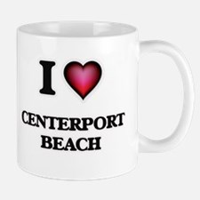 I love Centerport Beach New York Mugs