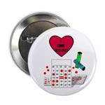 "BINGO ADDICT 2.25"" Button (100 pack)"