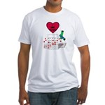 BINGO ON BOTH SIDES Fitted T-Shirt