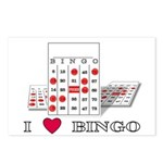 BINGO ON BOTH SIDES Postcards (Package of 8)